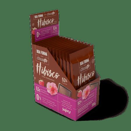 chocolate-zero-acucar-meio-amargo-em-tablete-boa-forma-53-por-cento-cacau-chocolife-sabor-hibisco-com-morango-300g-12-unidades