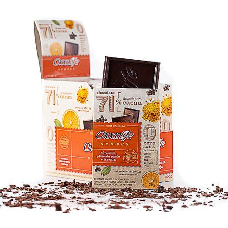 chocolate-zero-acucar-amargo-em-tablete-71-por-cento-cacau-chocolife-senses-sabor-curcuma-pimenta-e-laranja-300g-12-unidades-002