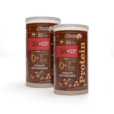 combo-proteina-vegetal-em-po-480g-sabor-chocolate-com-especiarias-linha-protein-chocolife-16-porcoes-2-unidades