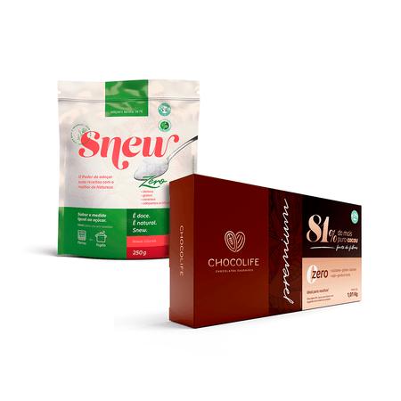 combo-adocante-natural-snew-250g-e-barra-de-chocolate-81-cacau-chocolife-1kg