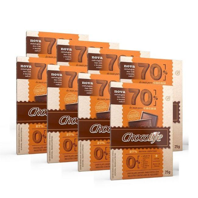 Combo-Chocolate-Zero-Acucar-Amargo-em-Tablete-70--Cacau-Chocolife-25g-8-Unidades_01