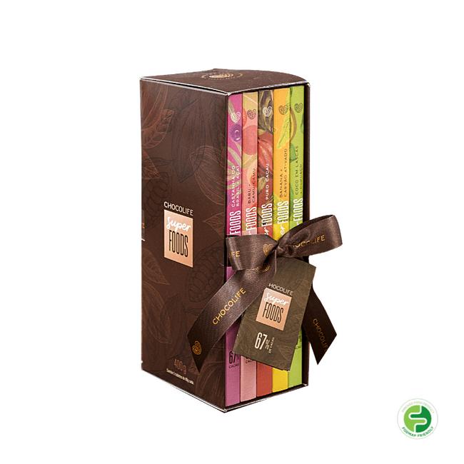 box-de-chocolate-zero-acucar-amargo-em-tablete-67-por-cento-cacau-superfoods-5-sabores-400g-001